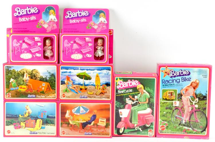 Barbie Play Paks Collection