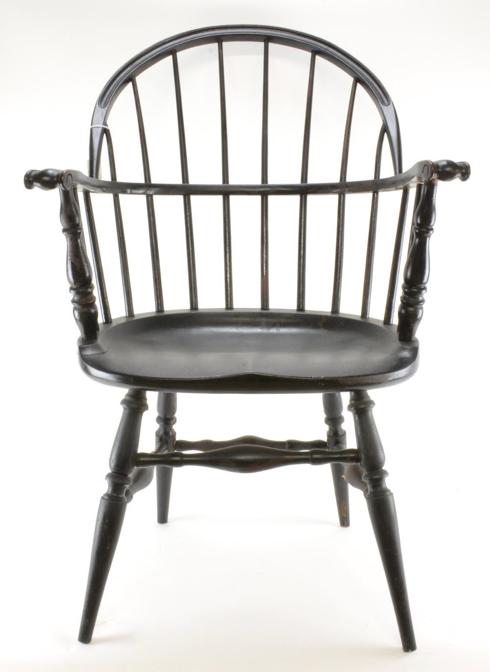 The Marble & Shattuck Chair Co. Windsor Style Armchair