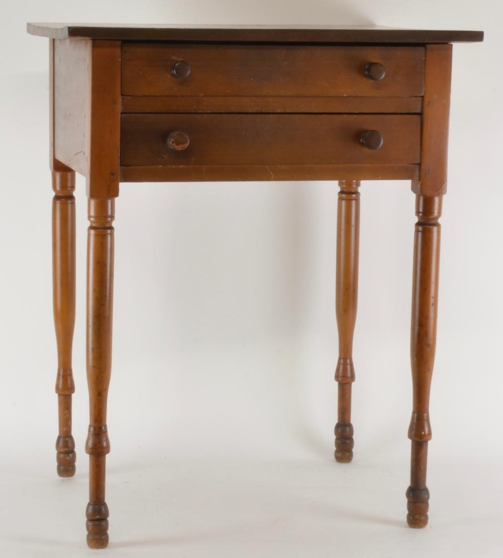 Early Southern Sewing Table