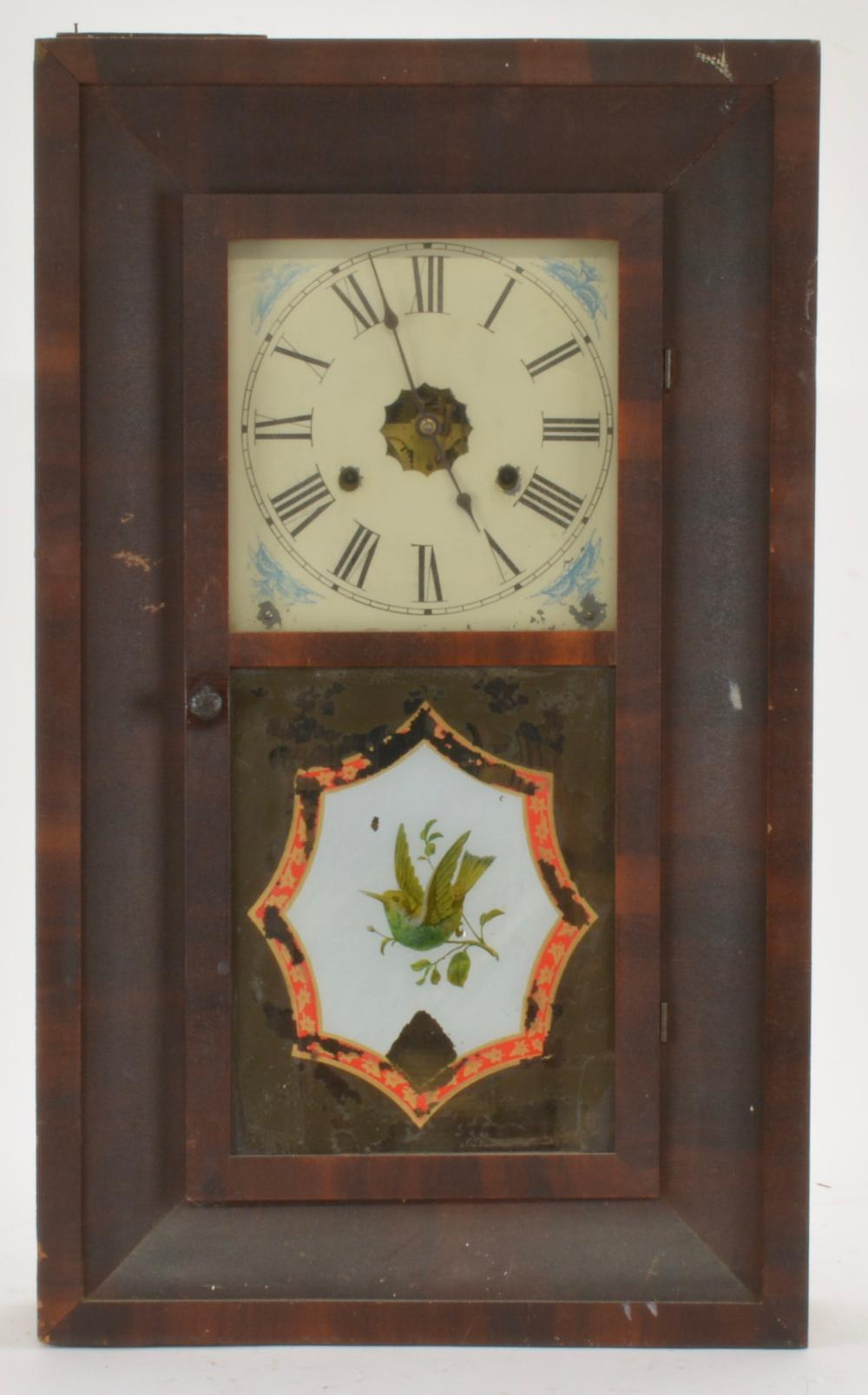 Antique New Haven 30 Hour Ogee Mantel Clock
