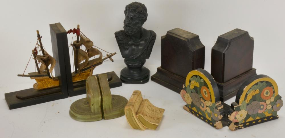 Vintage Bookend Collection