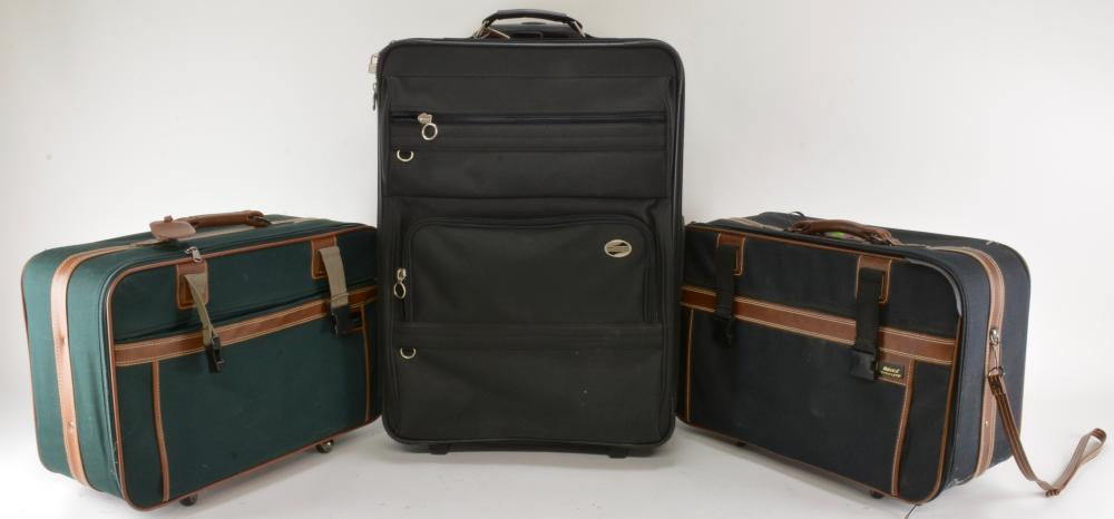 Modern Travel Luggage Group Lot