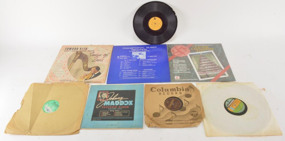 Vintage Vinyl Record Collection