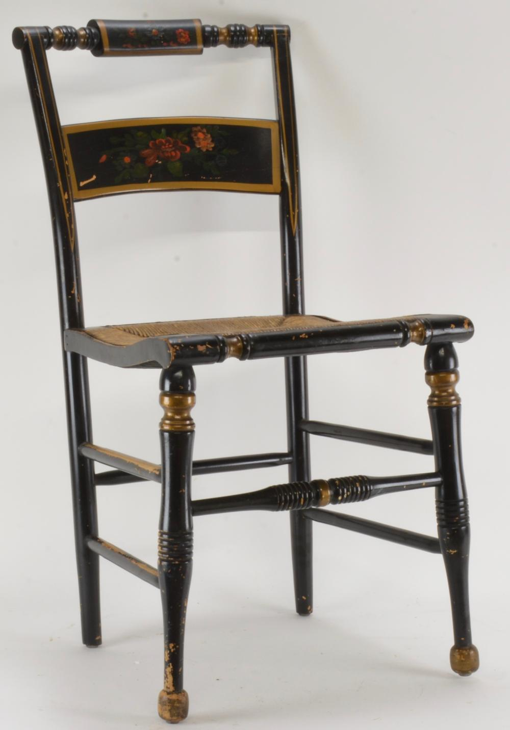 High Point Bending & Chair Co. Siler City N.C. Hitchcock Chair