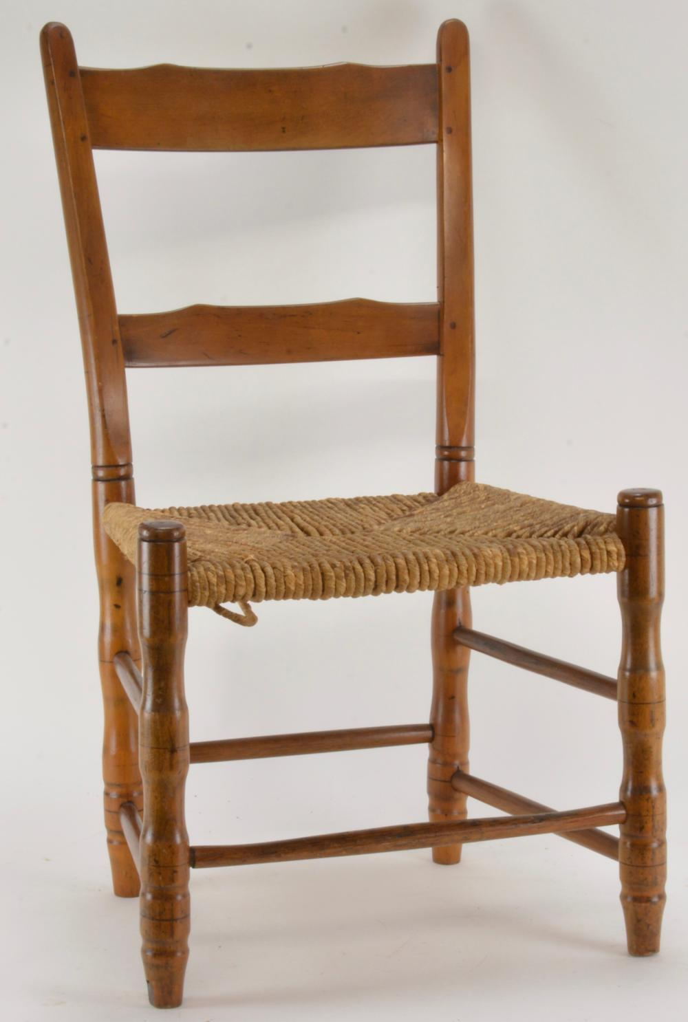 Early South Carolina Handmade Country Chair
