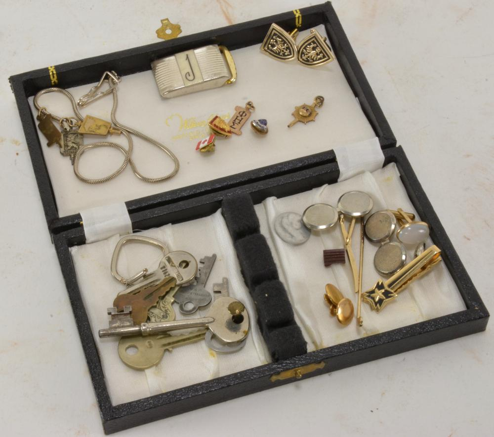Vintage Mens Estate Jewelry Lot