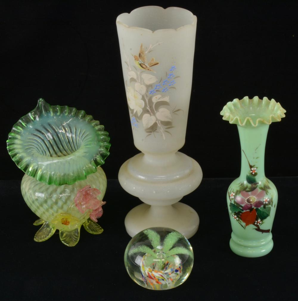 Early American Art Glass Group Lot