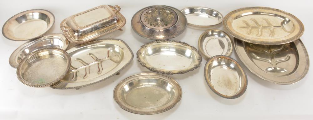 Vintage Silver Plate Serving Piece Collection