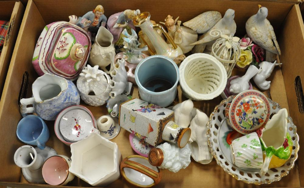 Estate Box Lot Better Porcelain And China