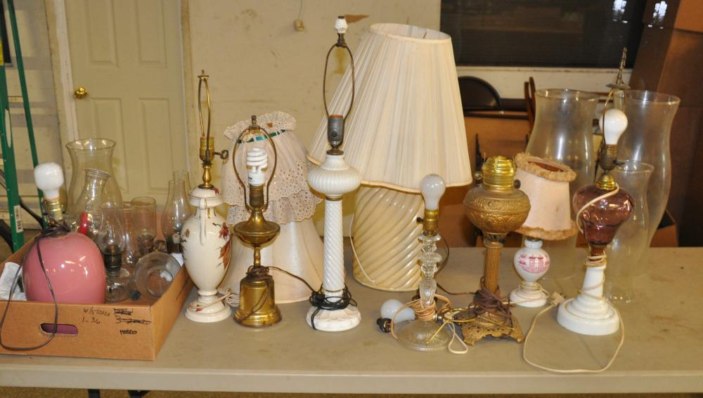 Estate Lamp And Lighting Collection
