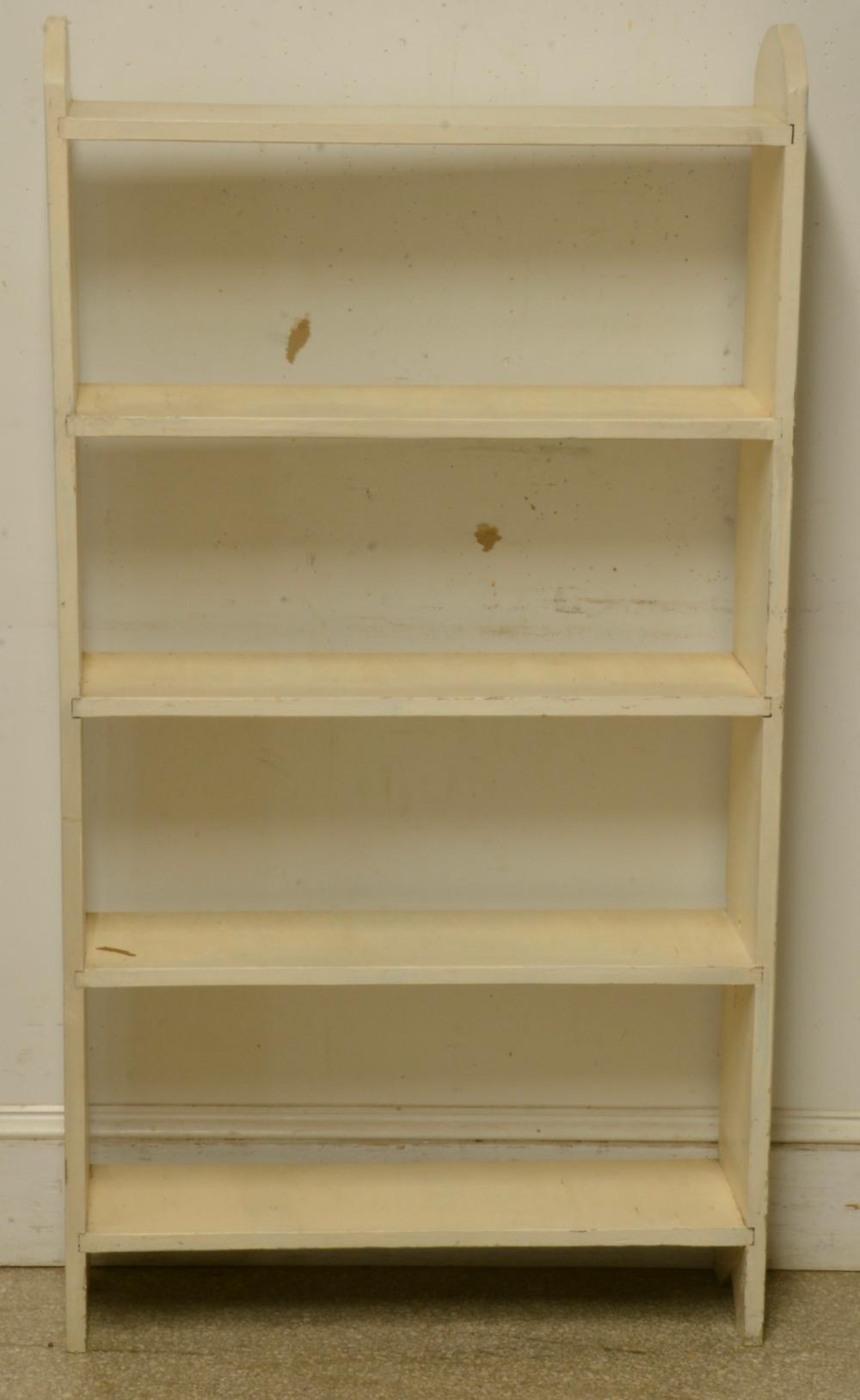 Small Handmade Open Bookcase