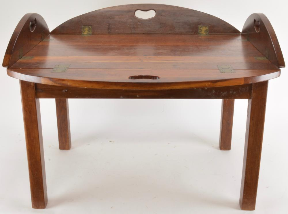 Mahogany Butlers Tray Table Coffee Table