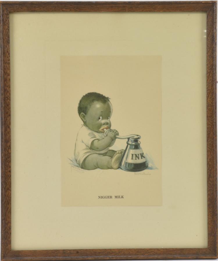 Bet on Us by C Art Print of Vintage Art Twelvetrees