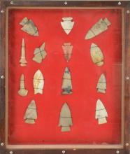 North Carolina Indian Arrowhead Collection