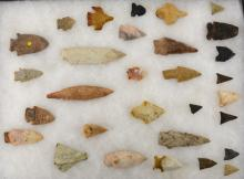 Southern Indian Arrowhead Collection
