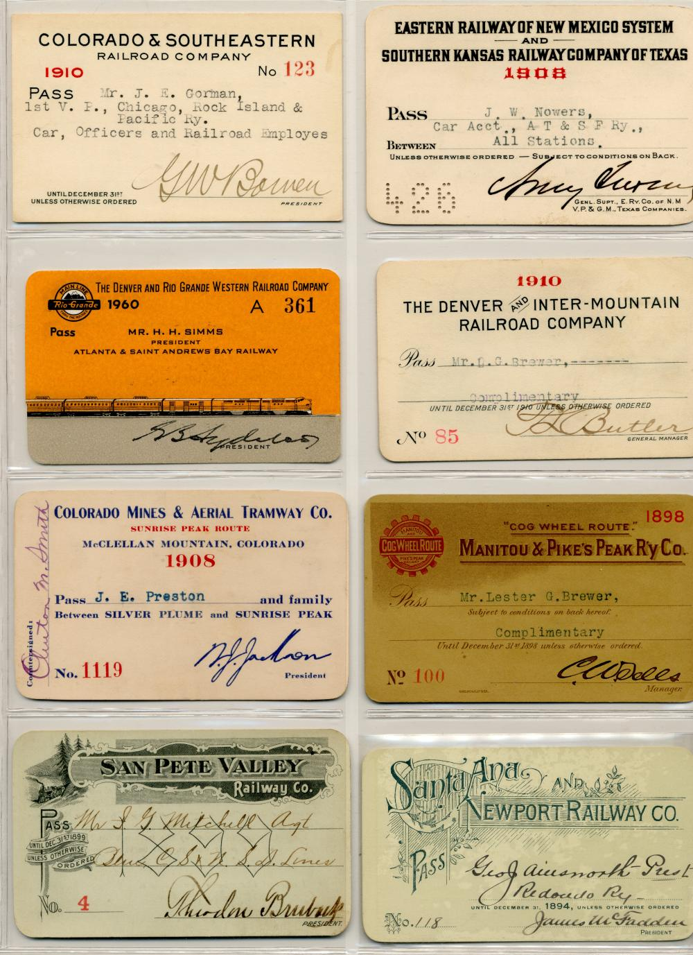 Historic American Railroad Collection