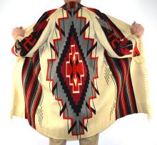 Native American Navajo Hand Woven Coat