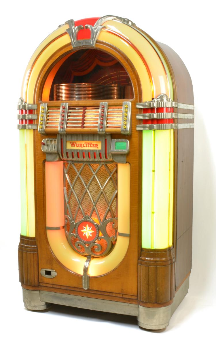 1946 Wurlitzer 1015 Jukebox Working