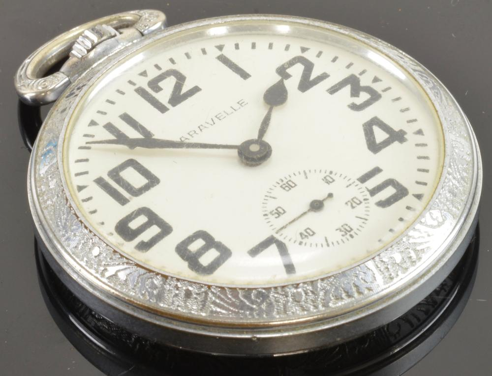 Caravelle Pocket Watch