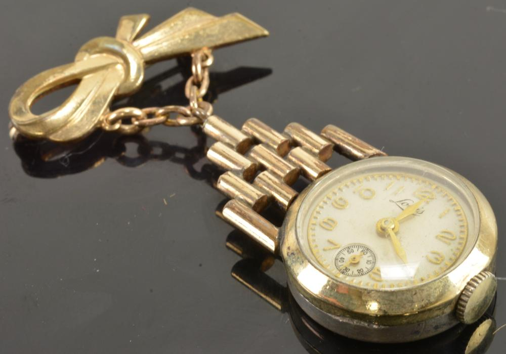 Vintage Louis Ladies Pendant Watch