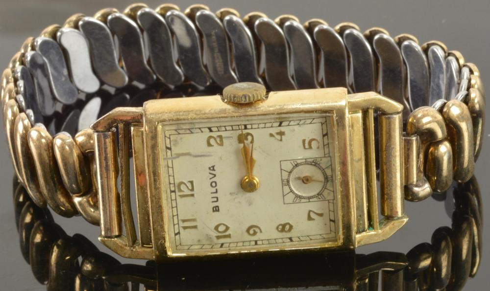 Vintage Bulova Men's Wristwatch