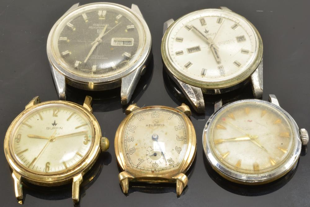 Vintage Men's Wristwatch Collection