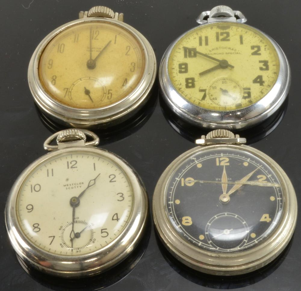 Antique Dollar Pocket Watch Collection