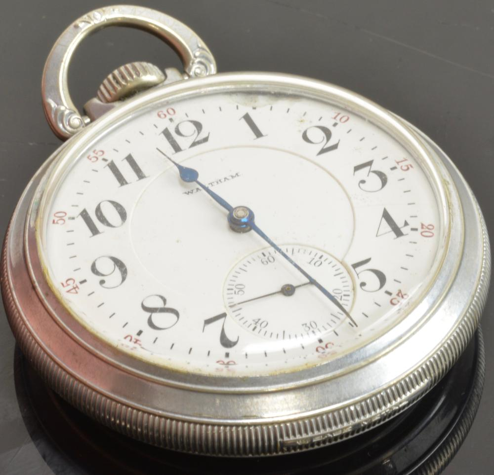 Vintage Waltham Vanguard 19 Jewel Pocket Watch