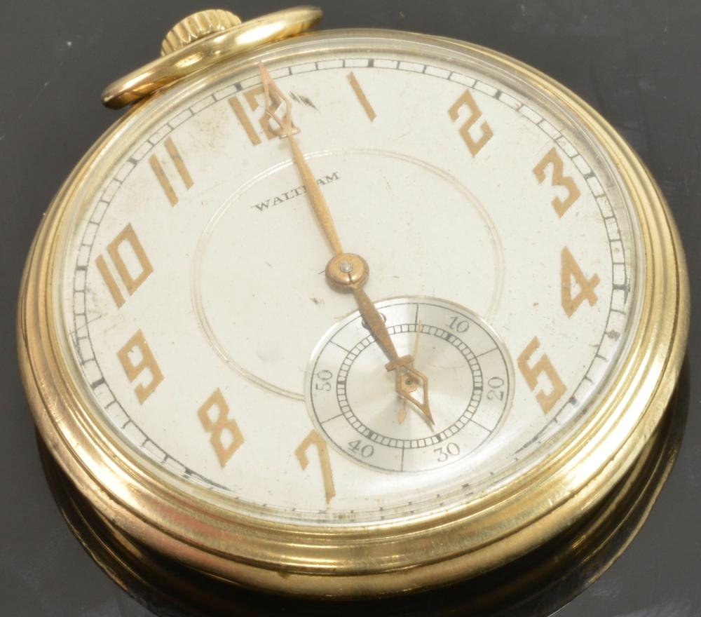 Vintage Waltham 17 Jewel Pocket Watch