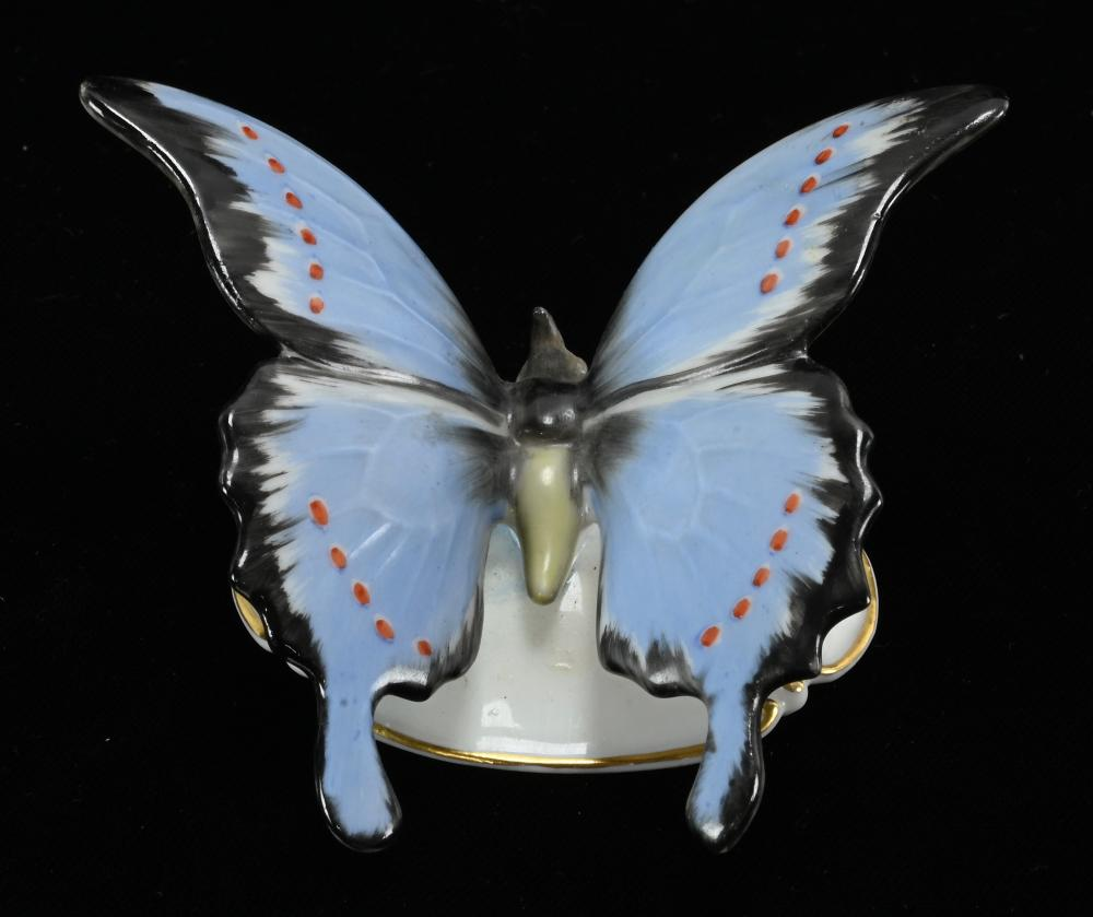 Vintage Rosenthal Germany Porcelain Butterfly