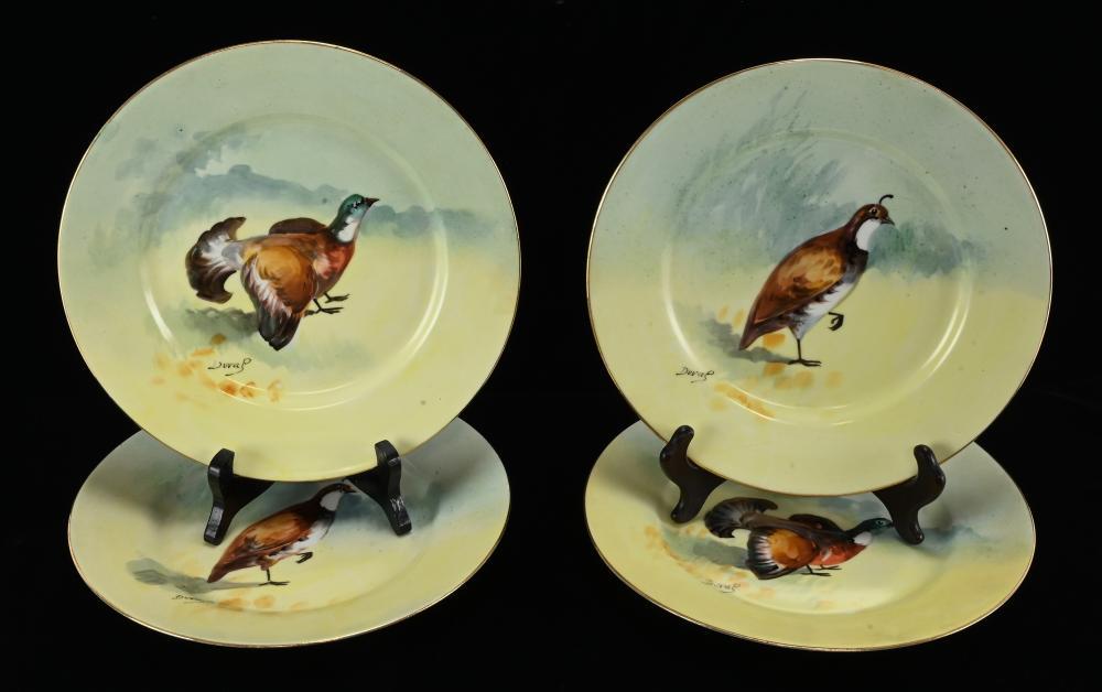 Elite Works Limoges France Bird Plates
