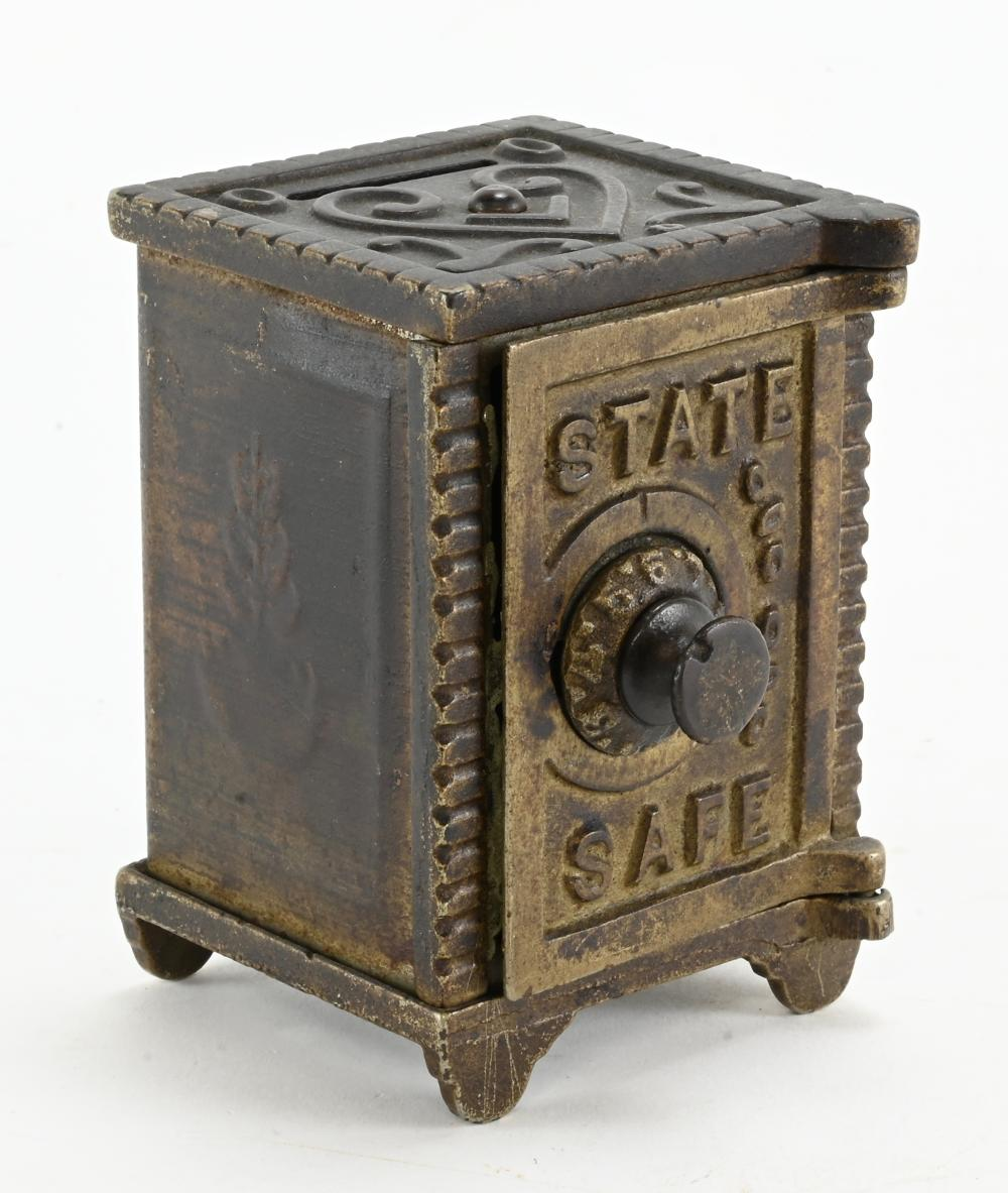 Antique State Safe Coin Bank