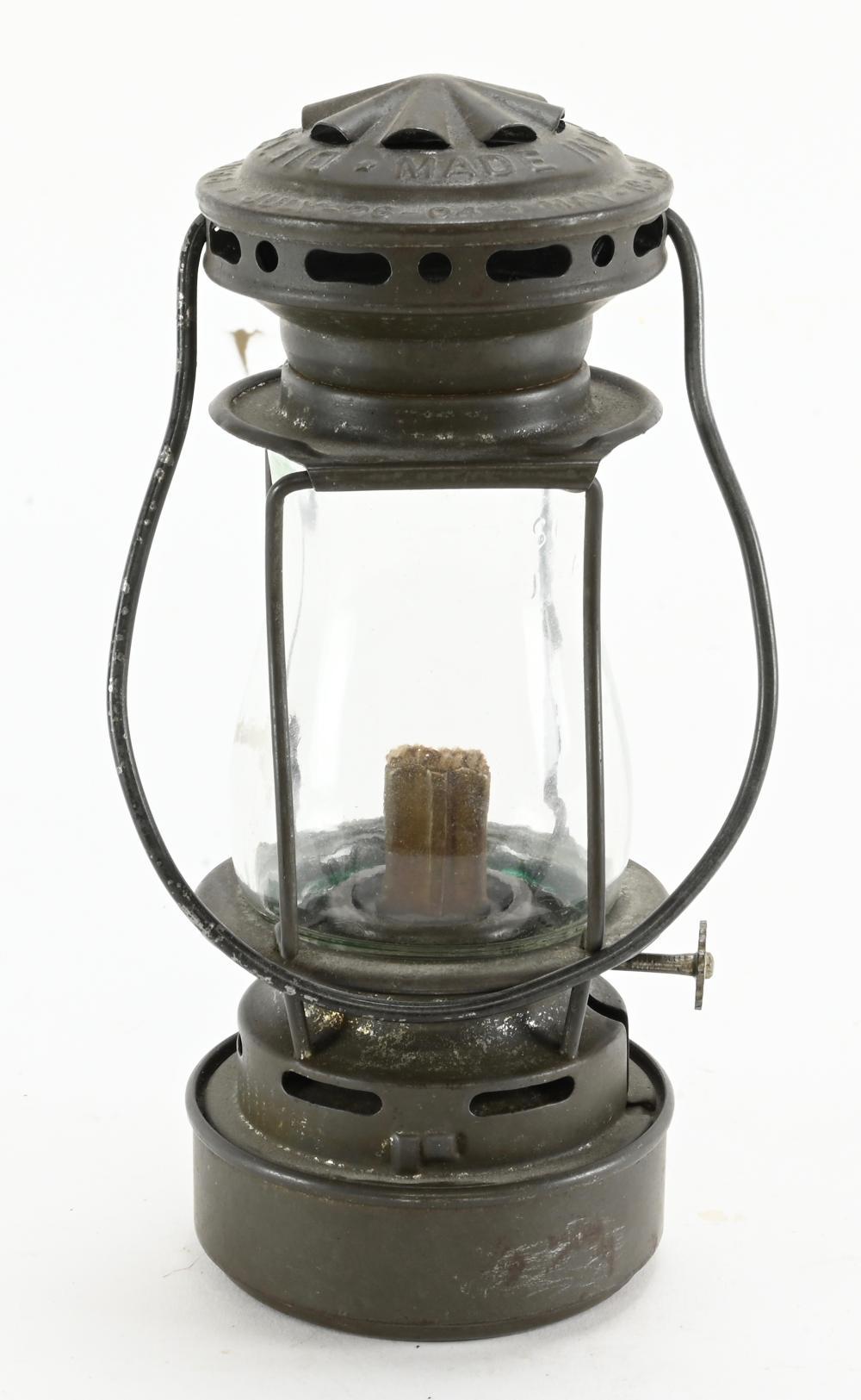 Antique Dietz Sport Skaters Lantern