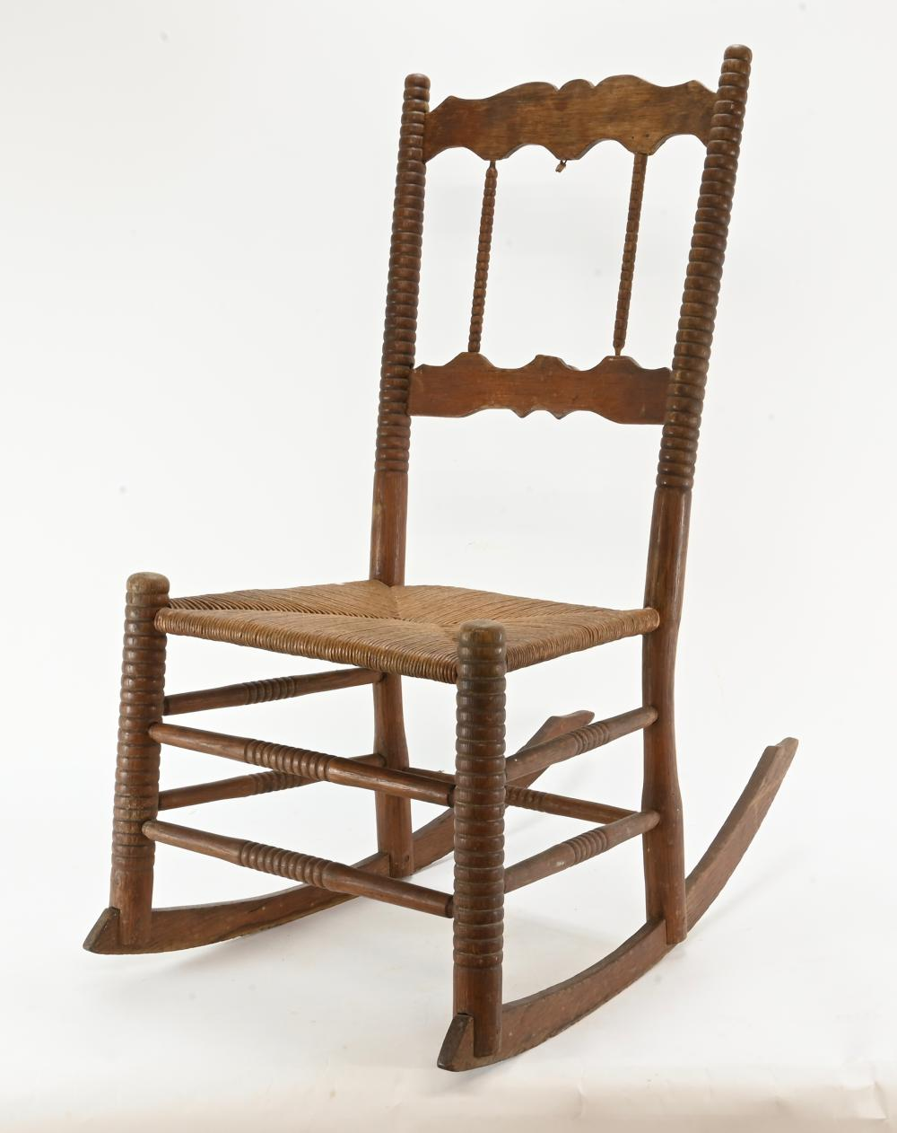 Antique Country Rocking Chair