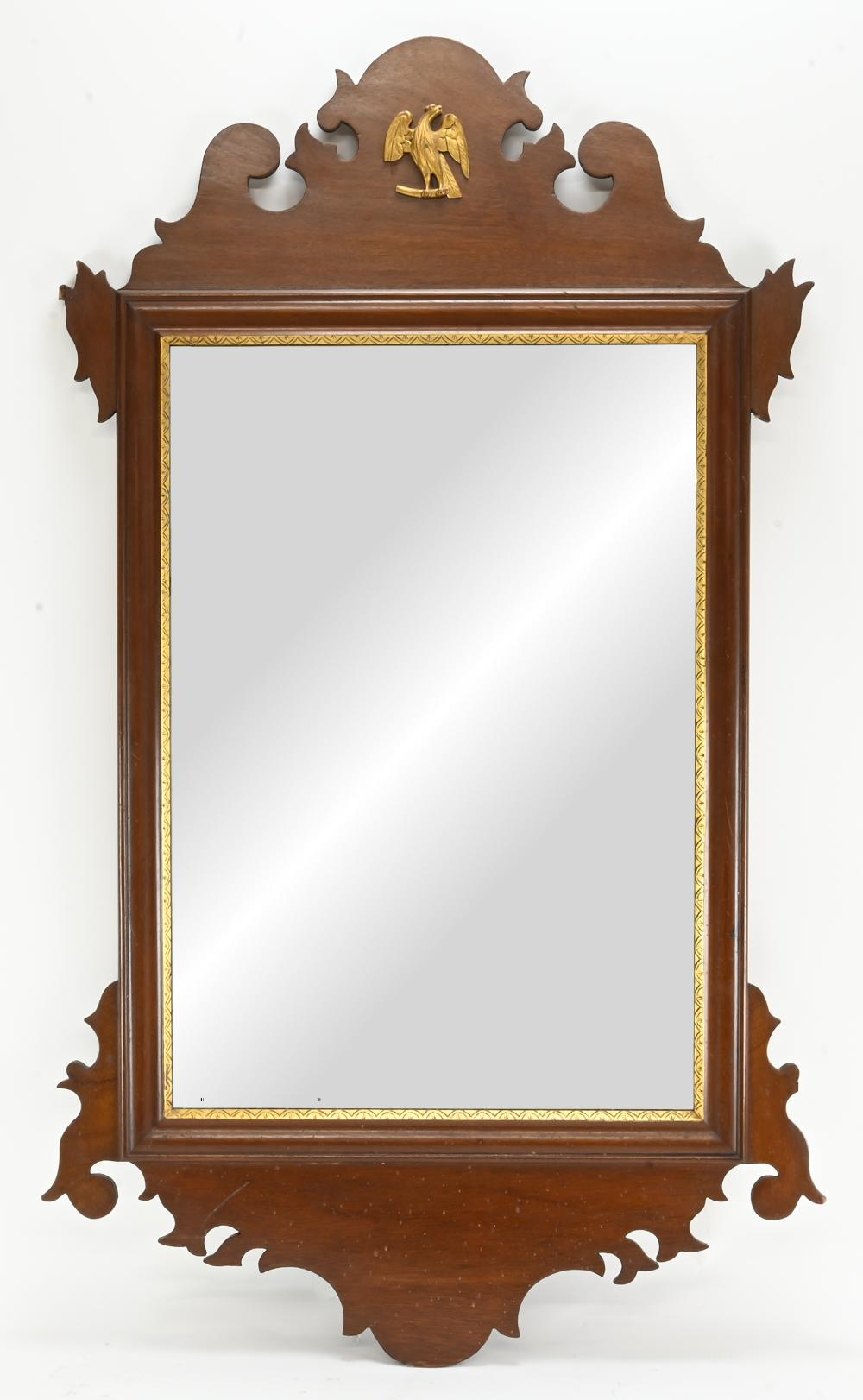 Formal Chippendale Style Mirror