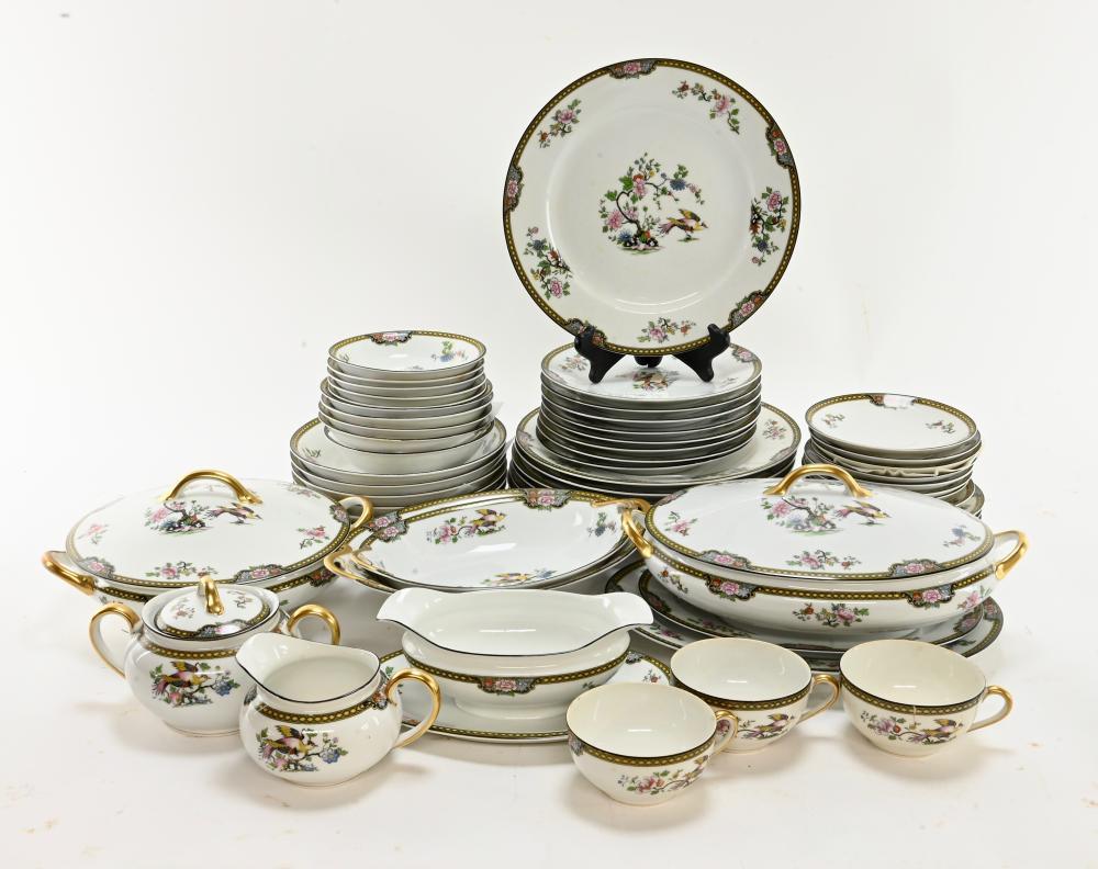 Vintage Noritake Pheasant Dinnerware China
