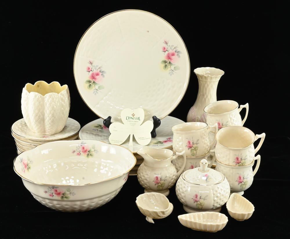 Vintage Donegal Parian China Ireland Dinnerware