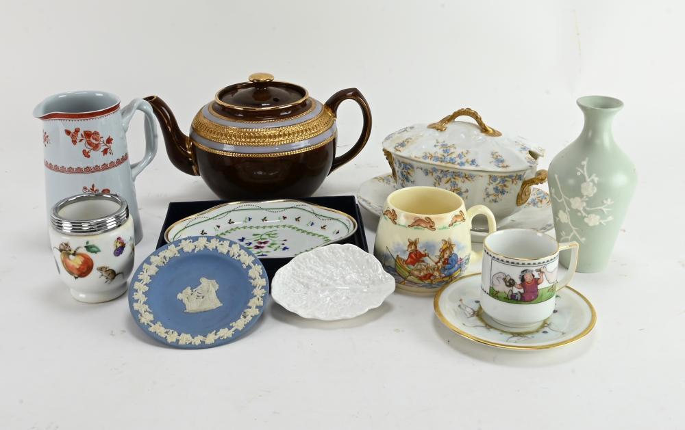 Fine English China Porcelain Estate Group Lot