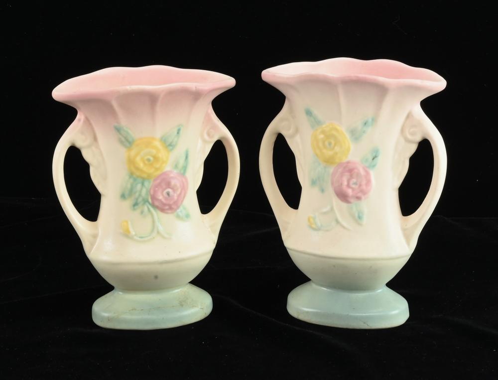 Vintage Hull Art Pottery Vases