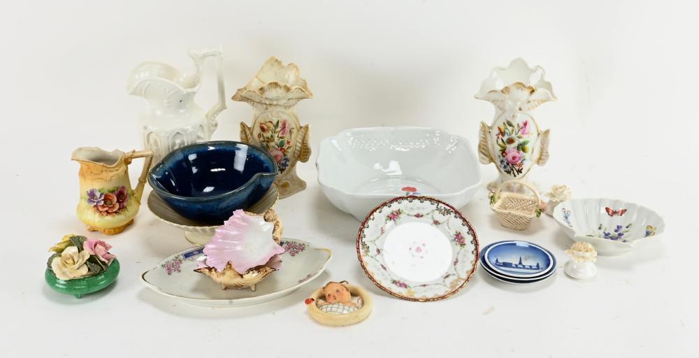 Vintage Pottery Porcelain Estate Group Lot