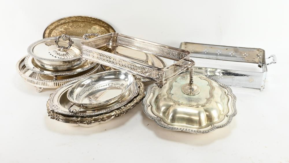 Vintage Silver Plated Serving Articles