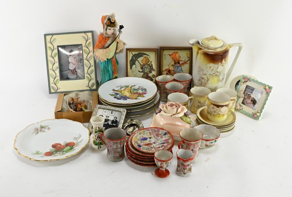 Vintage Porcelain And Doll Estate Group Lot