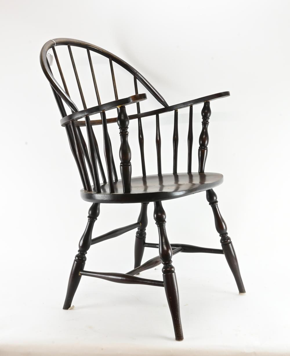 Vintage American Windsor Style Armchair