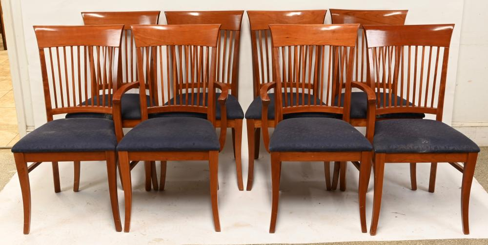 Nichols And Stone Furniture Cherry Dining Chairs