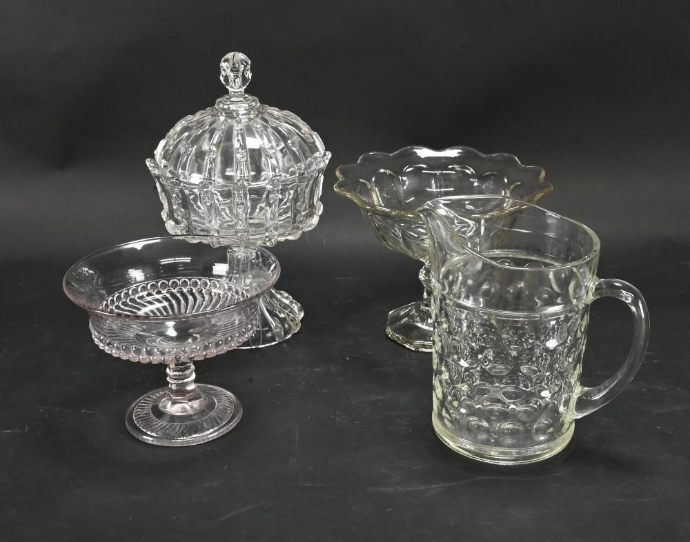 Antique Pattern Glass Estate Collection