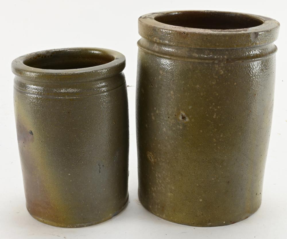 Early Virginia Pottery Crocks