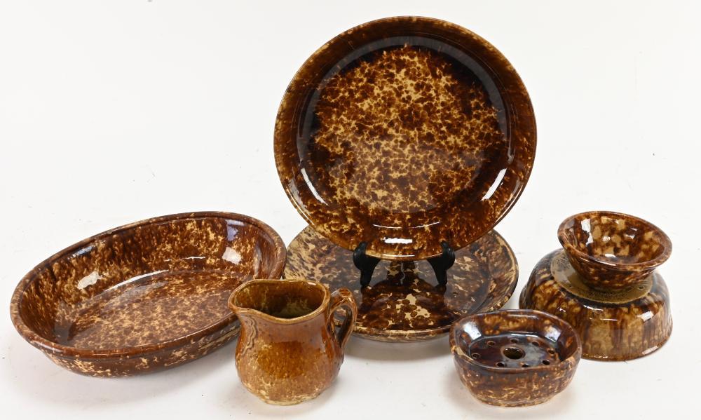 Antique Bennington Pottery Collection