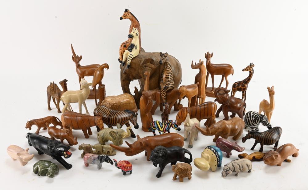 Vintage Art Animals World Estate Collection
