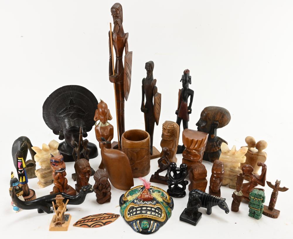 Vintage African Alaska Figural Art Estate Collection