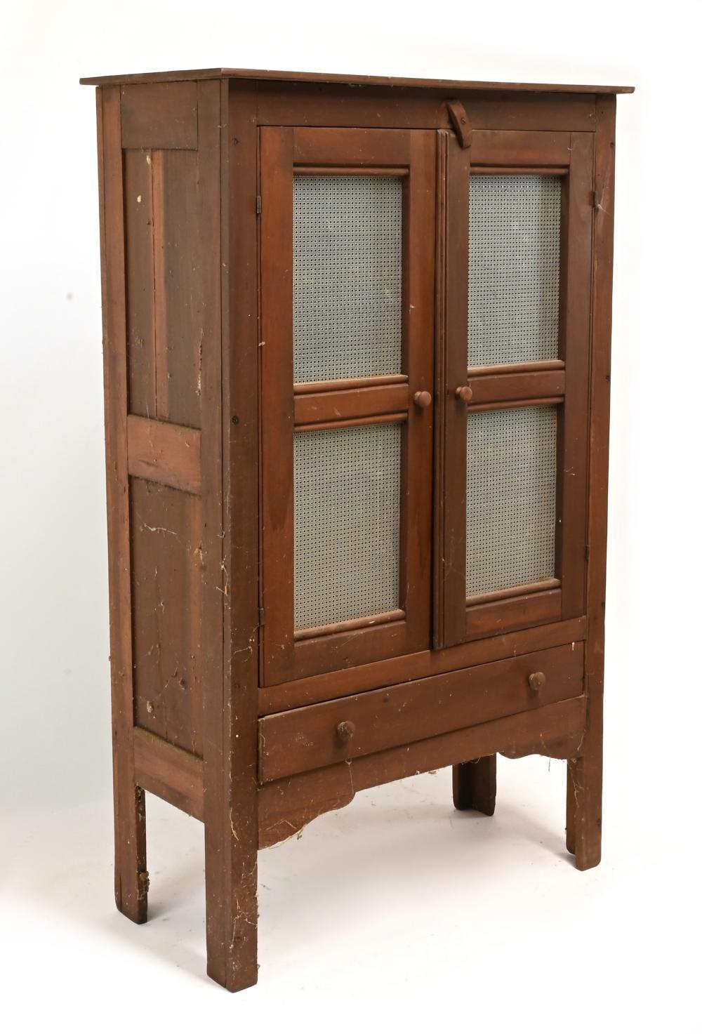 Antique Pie Safe Cupboard